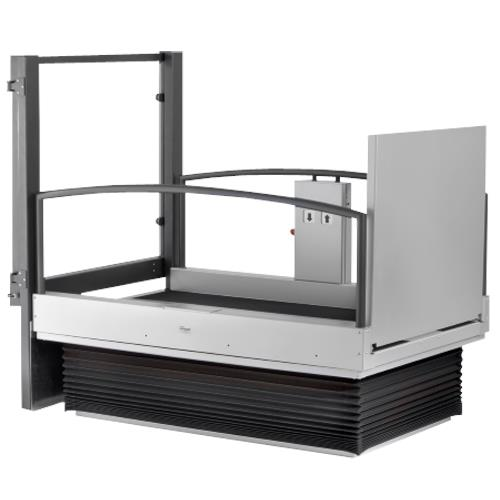 Portable Tall Wheelchair Platform Lift : Guldmann lifting platform lp portable ramps