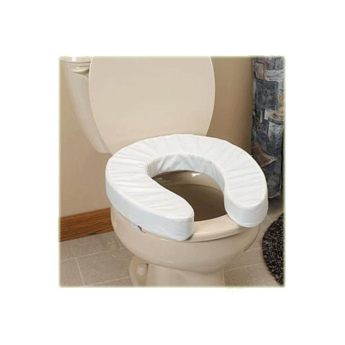 soft touch toilet seat. The Comfort Company Premier Toilet Seat Riser Cushion