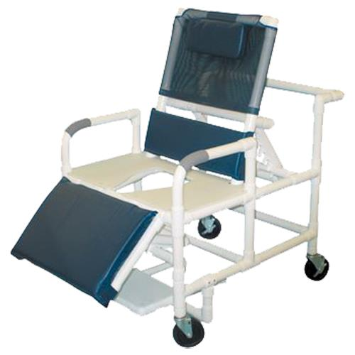 Mjm International Bariatric Reclining Shower And Commode