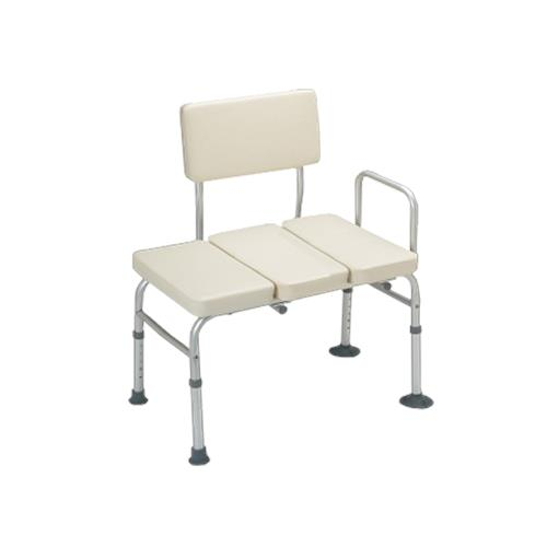 Guardian Padded Transfer Bench Without Commode Opening