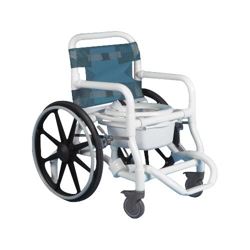 Duralife Deluxe Self Propelled Shower And Commode Chair