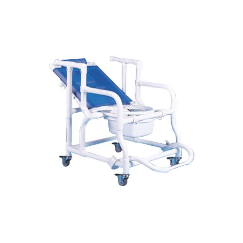 Duralife Deluxe Reclining Shower And Commode Chair  sc 1 st  Patient Room & Duralife Deluxe Reclining Shower And Commode Chair | Rolling Shower ...