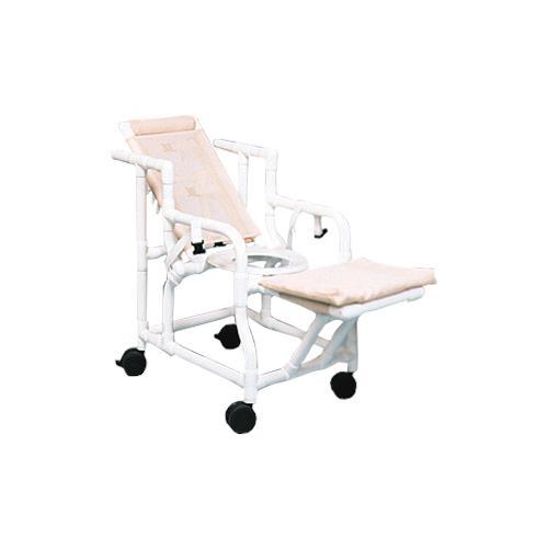 Amazing Duralife Reclining Shower Chair With Seat Belt Creativecarmelina Interior Chair Design Creativecarmelinacom