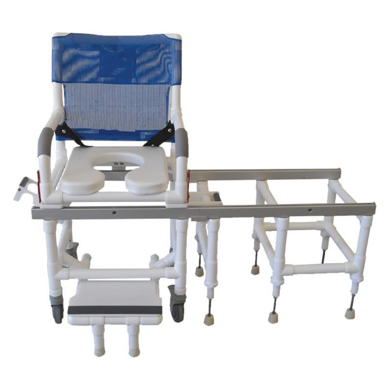MJM International All Purpose Dual Shower Transfer Chair   Shower Chairs
