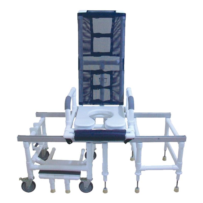 MJM International All Purpose Tilt N Space Shower and Transfer Chair ...