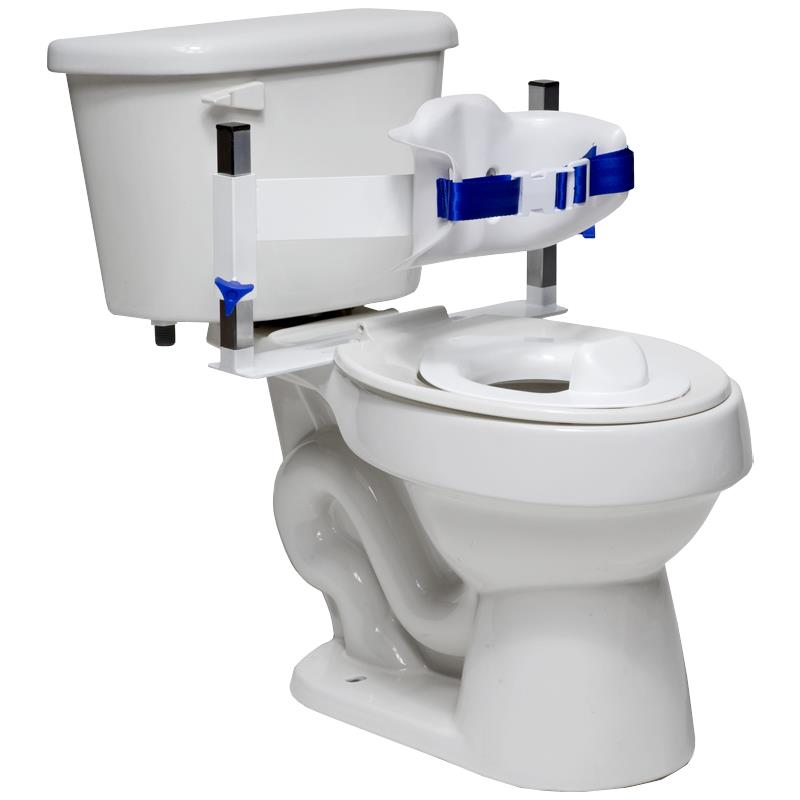 Columbia Lo-Back Toilet Support System | Commode Chairs