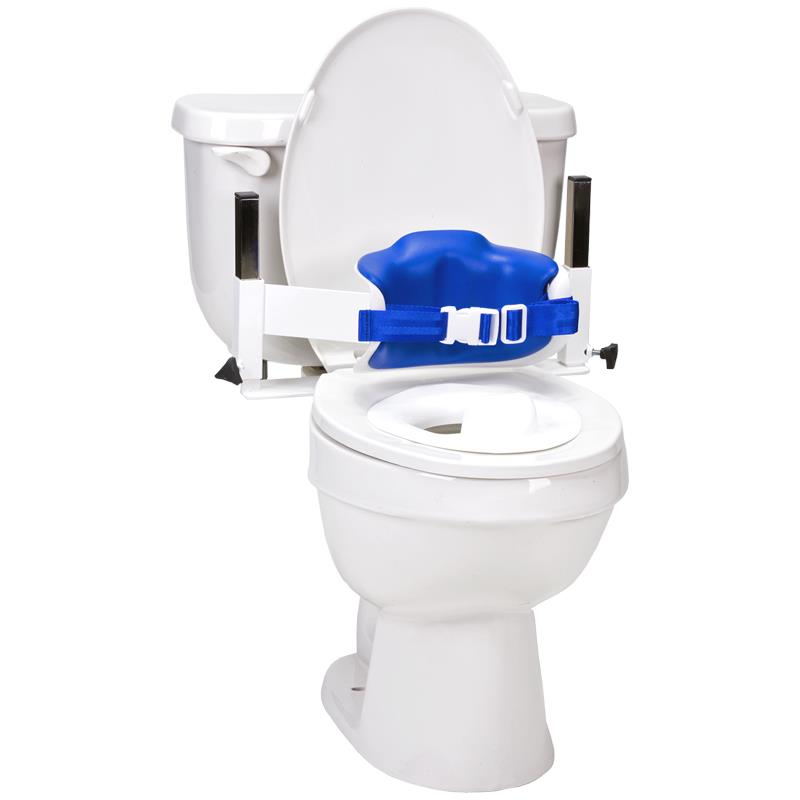 Toilet Support Systems : Columbia lo back toilet support system with padded
