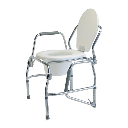 Graham-Field Silver Collection Steel Drop Arm Three-In-One Commode ...