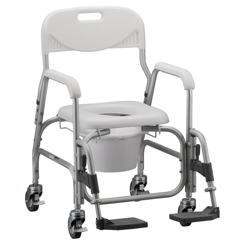Nova Medical Deluxe Shower Chair and Commode With Padded Seat And ...