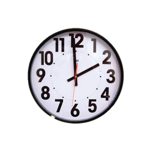 Wall Clock With Large Bold Numbers Large Print Household