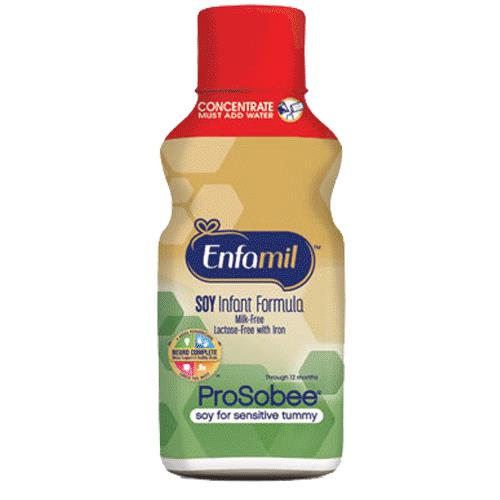 Enfamil Prosobee Soy Infant Formula For Sensitive Tummy