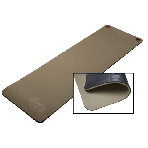 Ecowise Elite Workout Or Fitness Mat With Eyelets