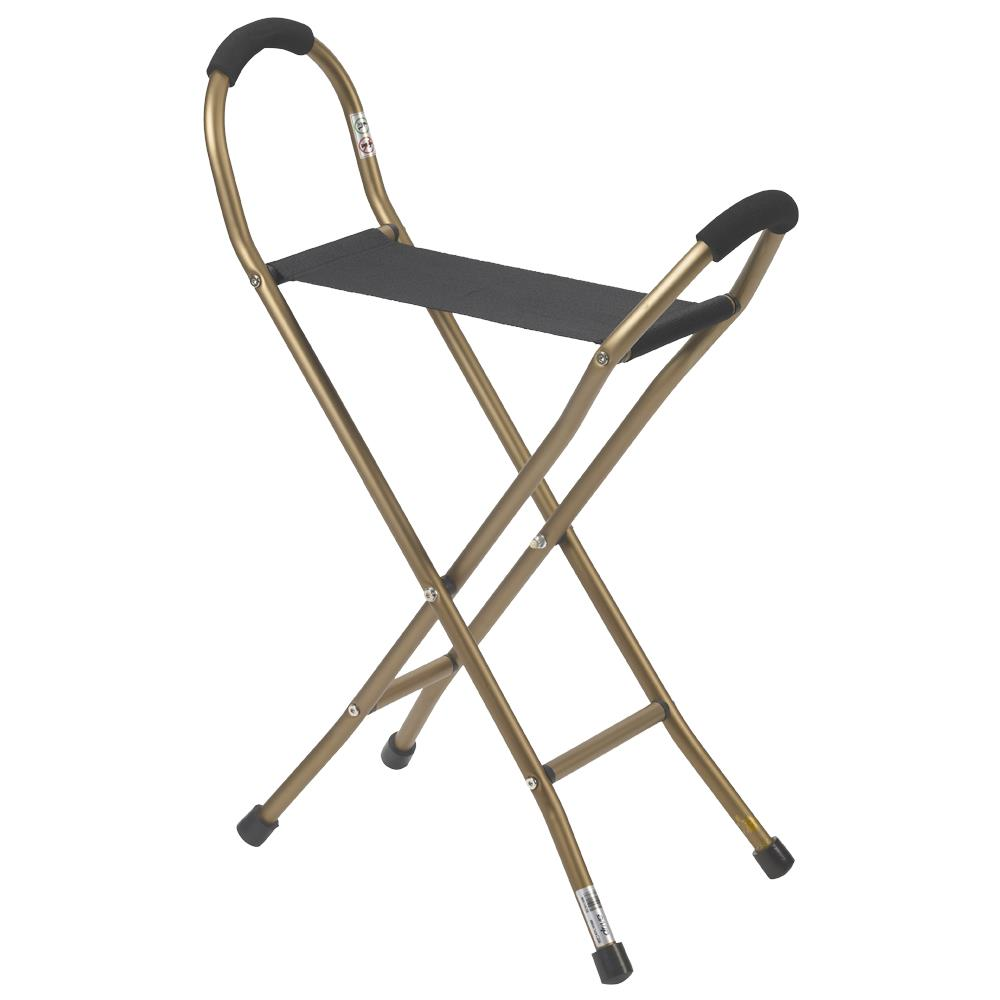 Portable Walking Chair Cane Stool