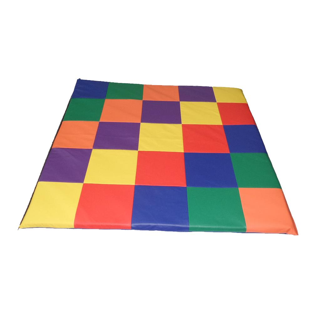 Soft Patchwork Floor Play Mat Activity Mats