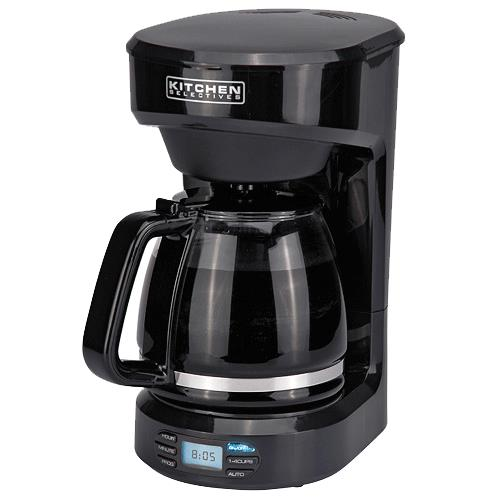 Kitchen Selectives: Kitchen Selectives Twelve Cup Programmable Coffee Maker