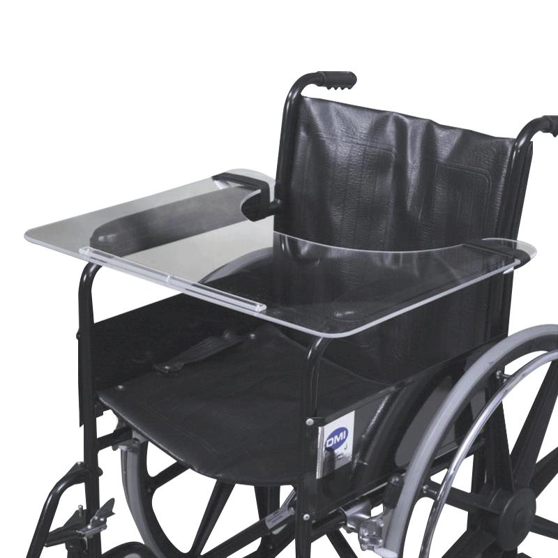 Mabis Dmi Acrylic Wheelchair Tray L L on Zero Gravity Chairs With Tray