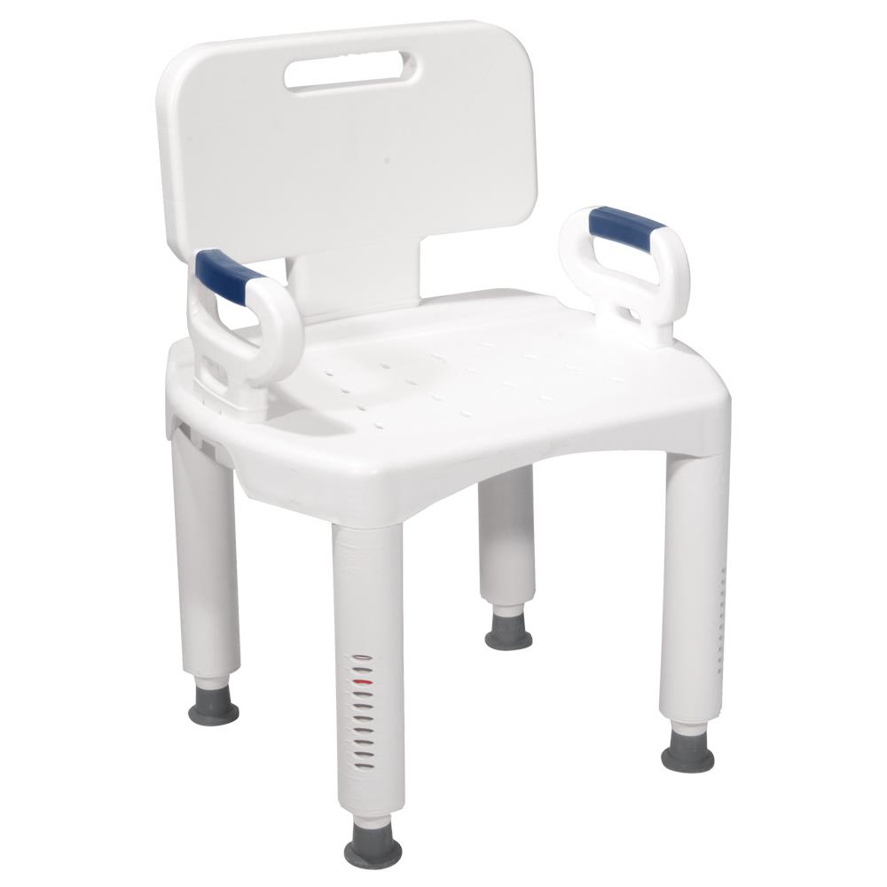 Drive Premium Series Shower Chair with Back and Arms | Shower Chairs