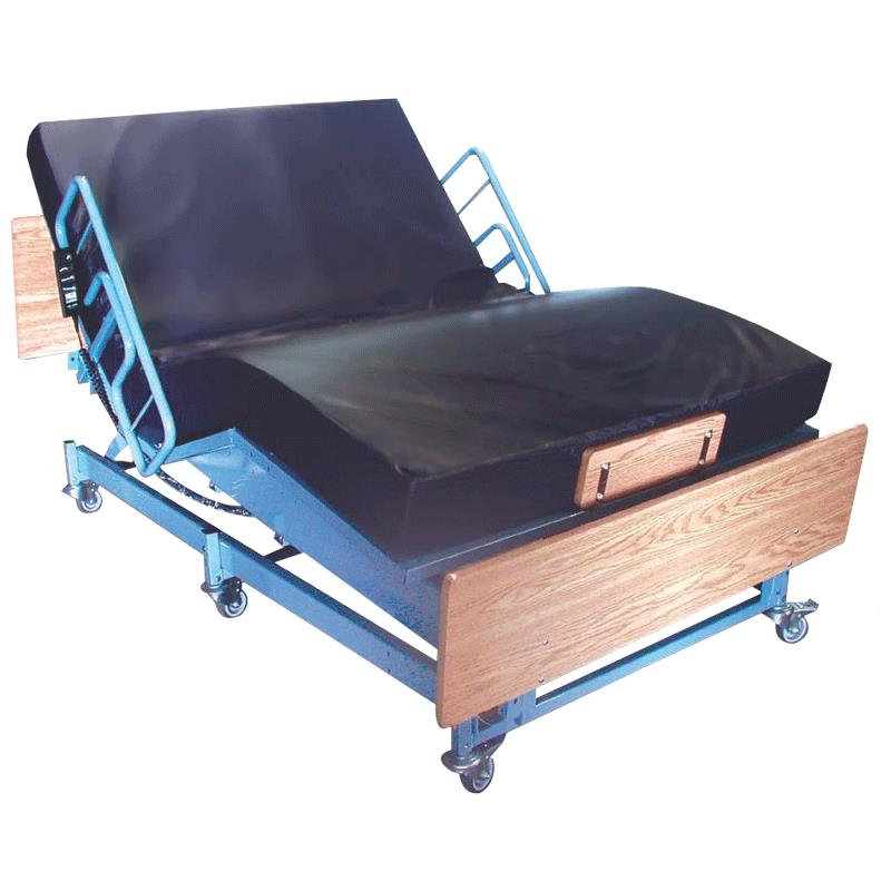 medline kings pride full electric bariatric bed | hospital bed
