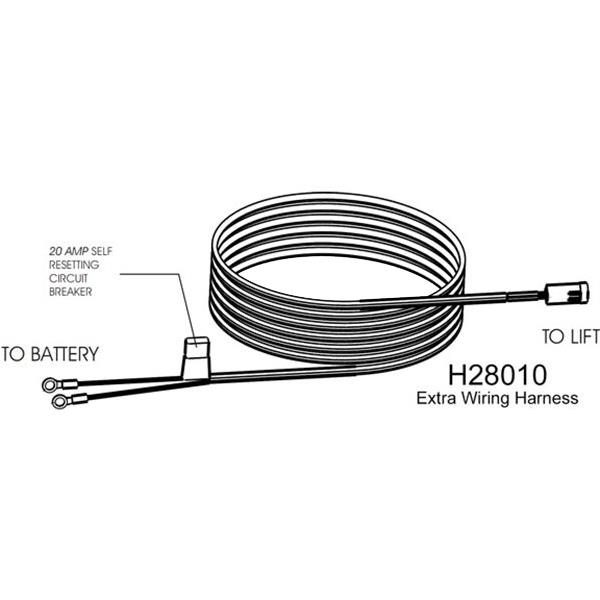 harmar vehicle wiring harness h28010 shopwheelchair rh shopwheelchair com