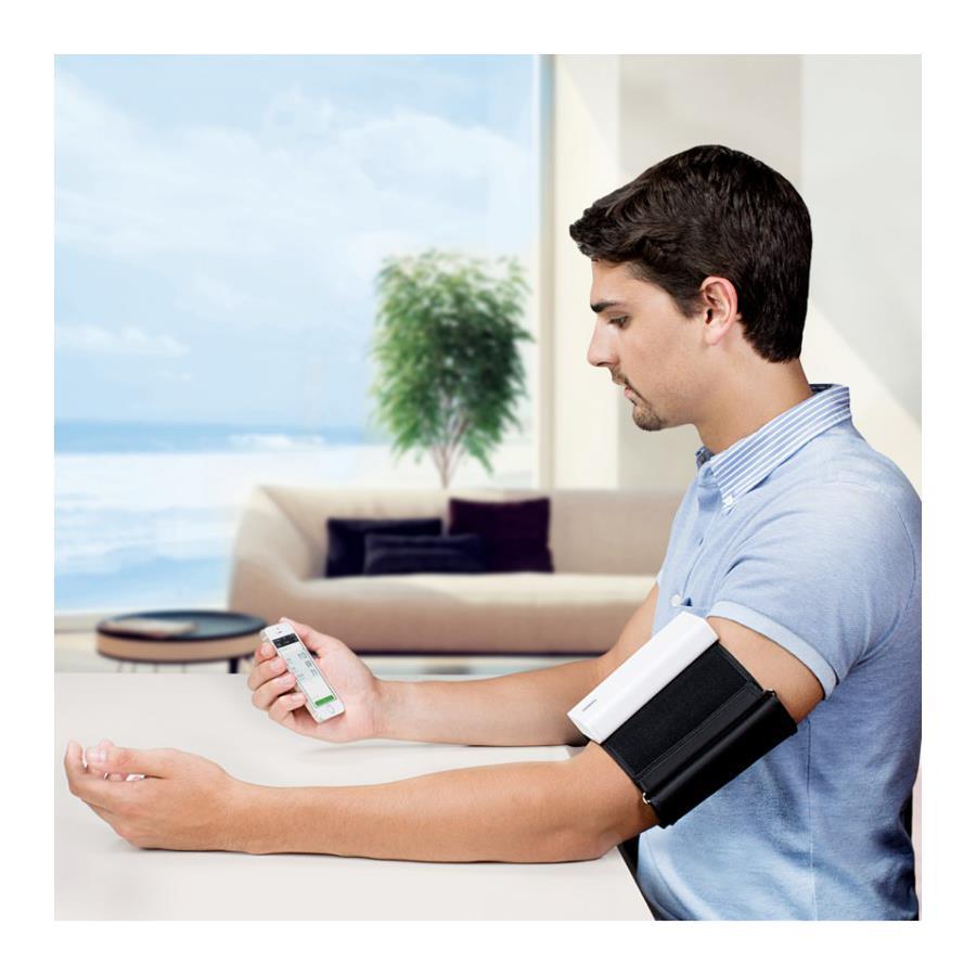 Qardio Arm Smart Blood Pressure Monitor | Blood Pressure ...