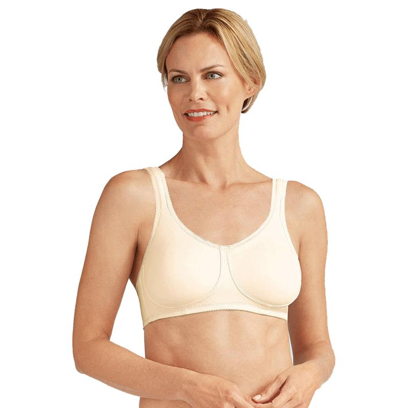 107bf39881 Katy Off White Seamless Wire Free Bra is constructed to support and ...