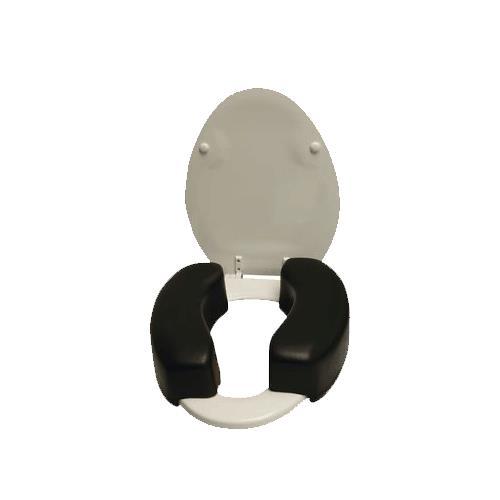 Therafin Two Piece Toilet Riser Raised Toilet Seats
