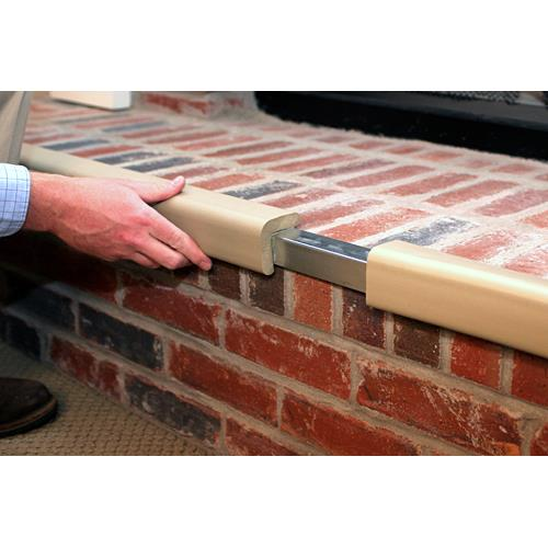 Cardinal Gates Metal Backed Hearth Guard Pad Safety Products