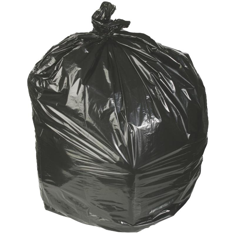 Medline Low Density Black Trash Liners Waste Disposal