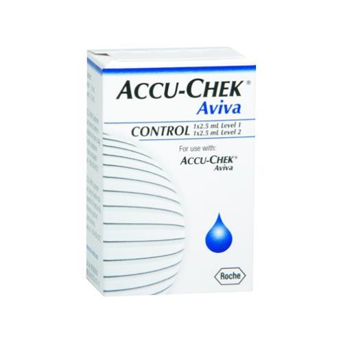 Roche Accu Chek Aviva Glucose Control Solution Control Solution