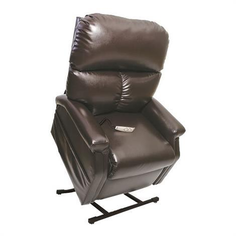 Pride classic 3 position full recline chaise lounger for Chaise quadriceps