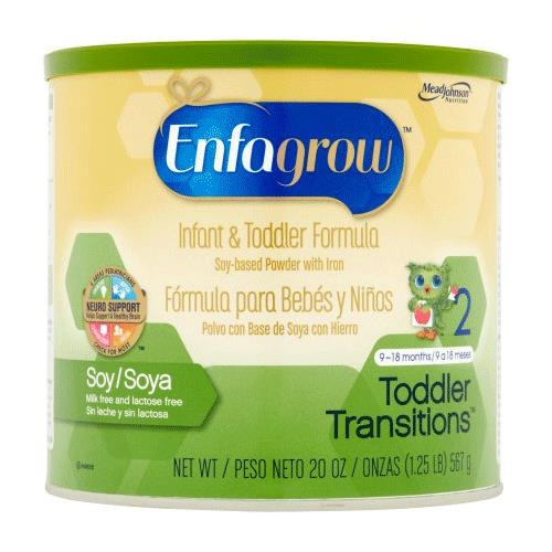 Enfagrow Soy Toddler Transitions Powder Formula