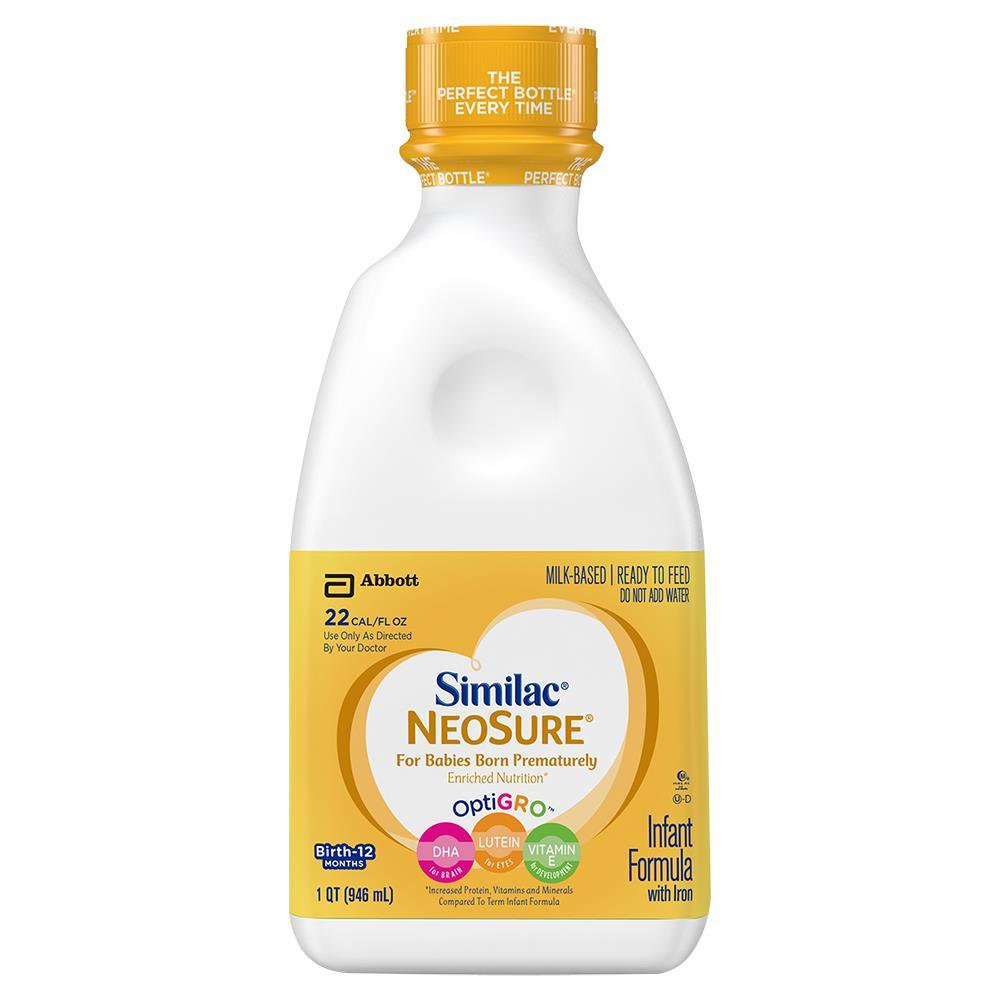 Abbott Similac NeoSure Infant Formula With Iron