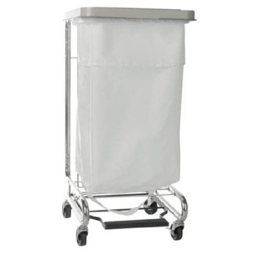 Mckesson Soiled Linen Hamper Stand With Foot Pedal