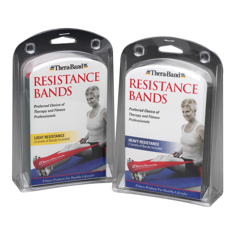 TheraBand Prescription Pack Latex Exercise Band