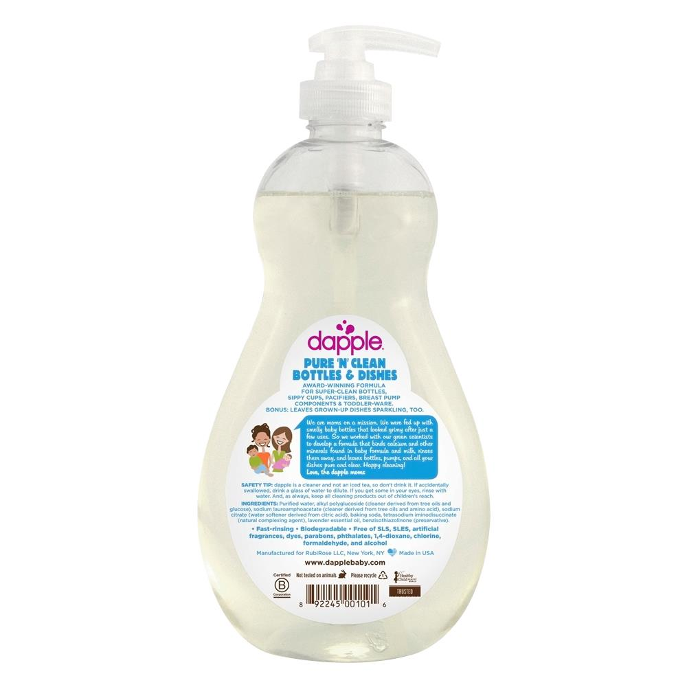 Dapple Lavender Dish And Bottle Liquid Disinfectants Or