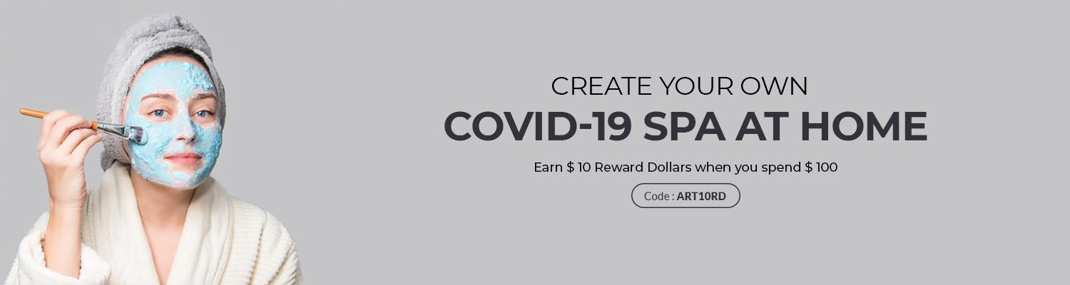 Create Your Own Covid-19 Spa at Home