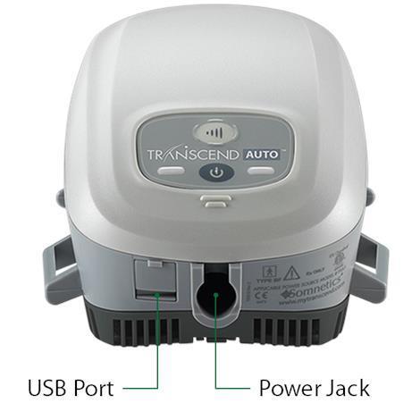 Somnetics Transcend Auto Mini Cpap Machine With Ezex