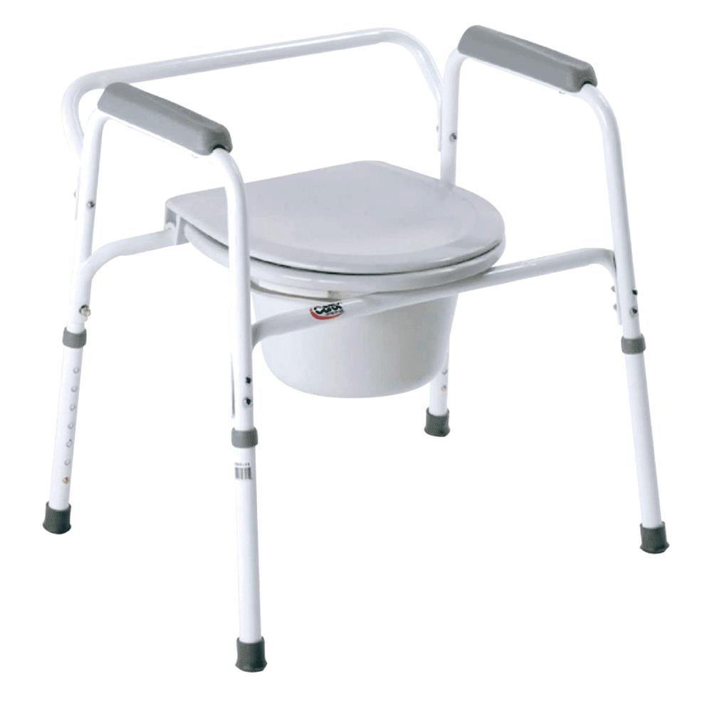 Carex Bedside Steel Commode | Commodes