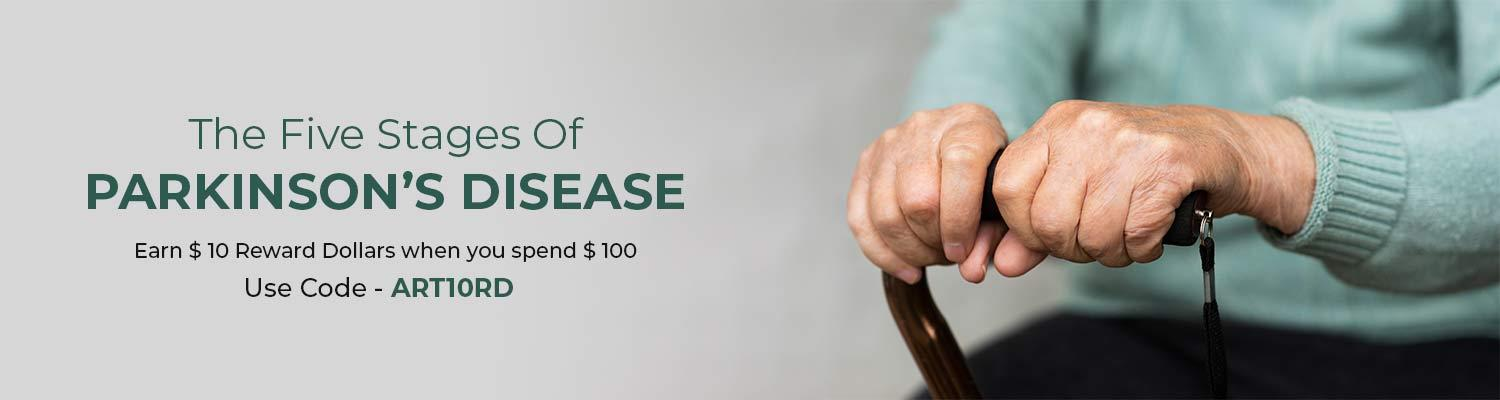 The Five Stages of Parkinson's Disease