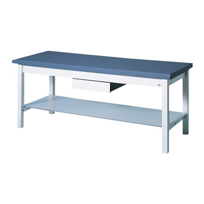 Hausmann Professional Treatment Table With Storage Shelf