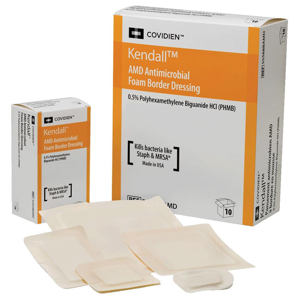 Covidien Kendall AMD Antimicrobial Foam Dressing