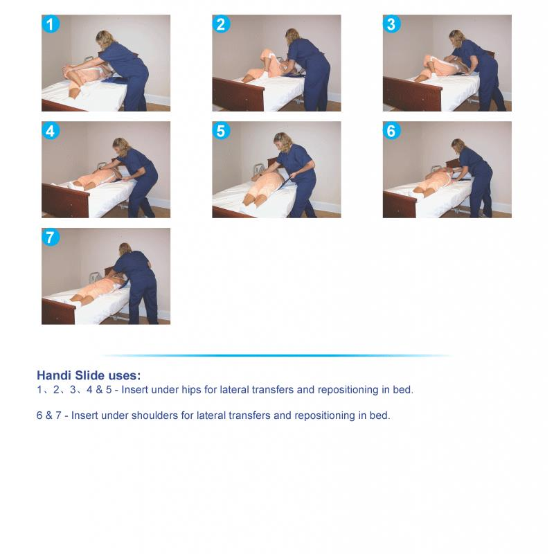 Bestcare Handi Slide Hand Held Positioning Aid Transfer
