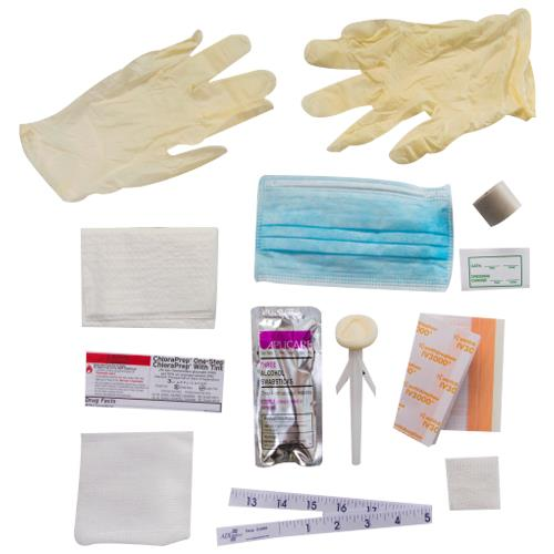 Reliamed central line dressing change kit with opsite for Photo dressing change