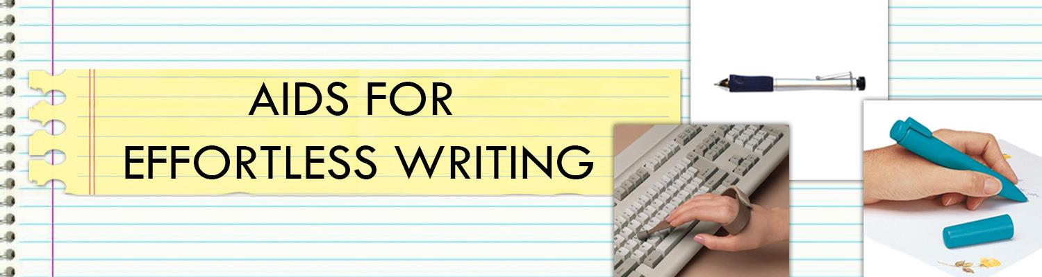 Aids For Effortless Writing