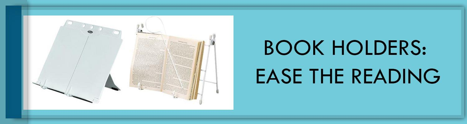 Book Holders: Ease the Reading