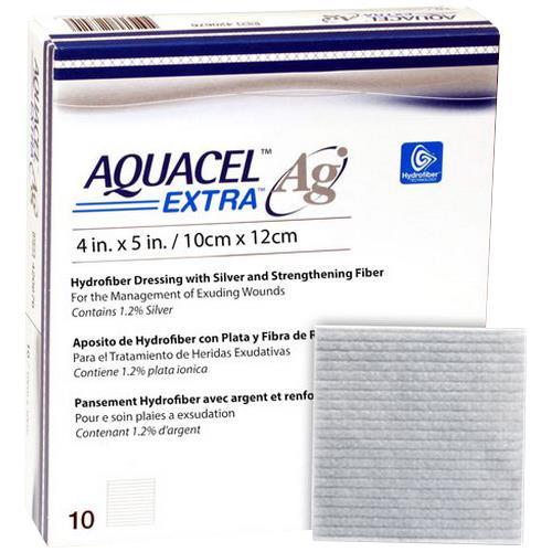 Convatec Aquacel Ag Extra Hydrofiber Dressing Wound
