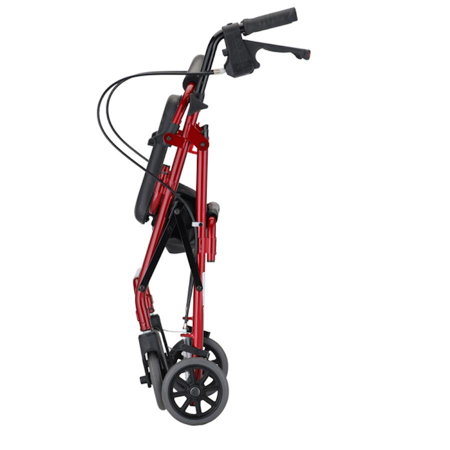 Nova Medical Cruiser Deluxe Four-Wheel Rolling Walker or Rollator ...