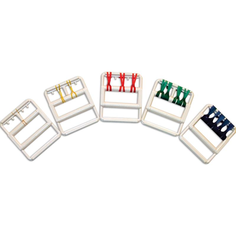 Cando Rubber Band Hand Exerciser Hand Exercisers