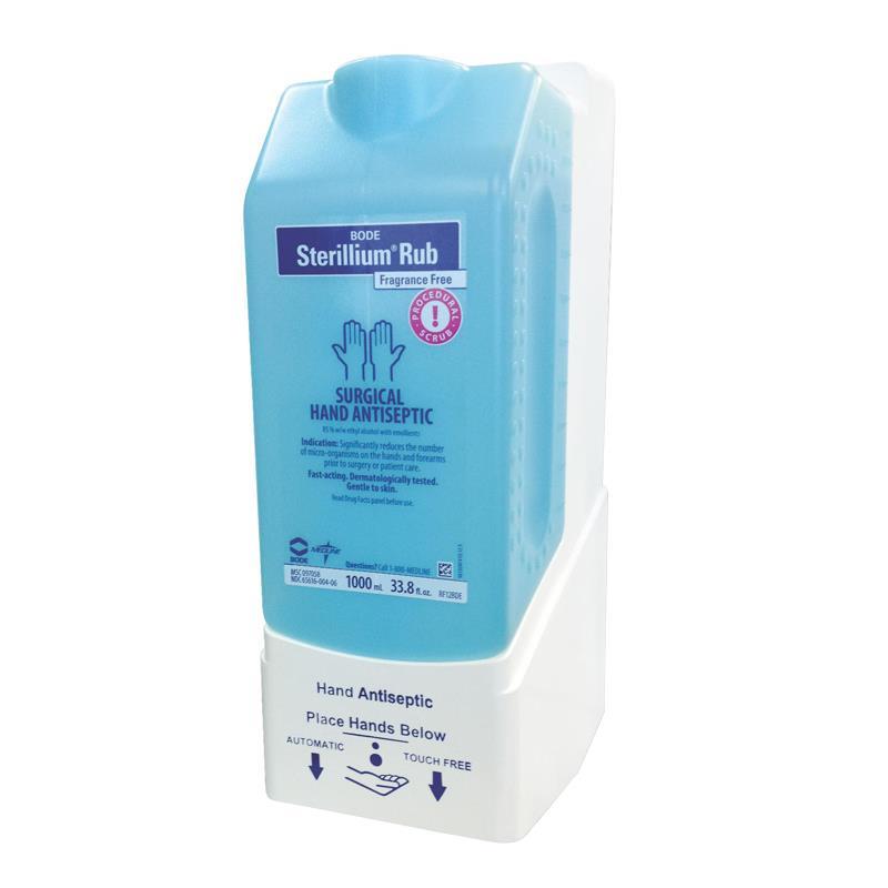 Sterillium Rub Dispenser ~ Medline fragrance free sterillium rub surgical hand scrub