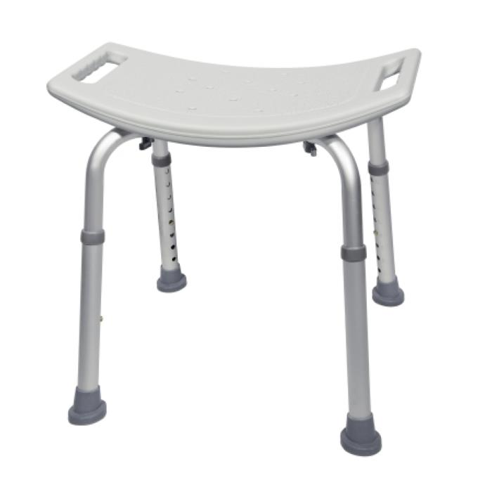 Mckesson Aluminum Bath Bench Without Back | Shower Chairs